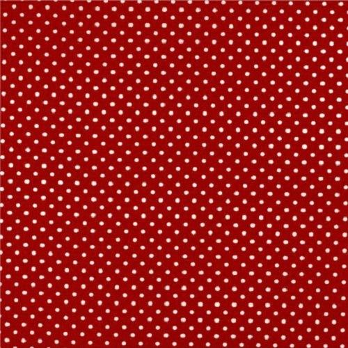 Treasures from the Attic, Small Polka Dot Fabric - Red - ineedfabric.com