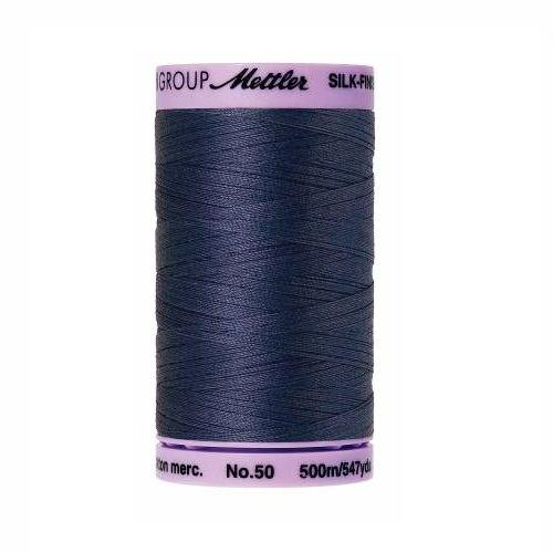 True Navy Silk-Finish 50wt Solid Cotton Thread - 547yds - ineedfabric.com