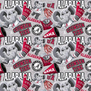 University Of Alabama Mascot Fabric - ineedfabric.com
