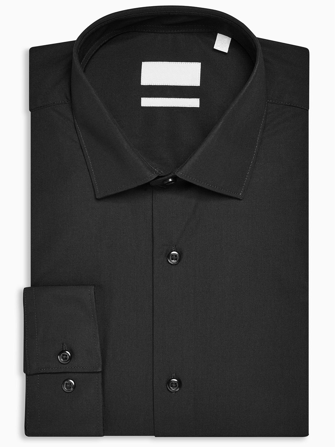 Premium Black Formal Oxford Cotton Shirt Code-1207