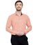 Mens Formal Orange Cotton  Check Shirt Code-1094 - Tooley Shirts