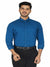 Premium Cotton Formal Dark Blue Long Sleeves Shirt Code-1221