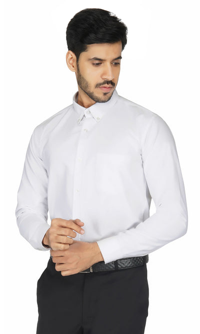 White Ultra Premium Shirt Code-1216