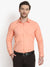 Men's Formal Peach Cotton Shirt Code-1035 - Tooley Shirts