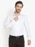 Men's Formal White Premium Cotton Shirt Code-1036 - Tooley Shirts