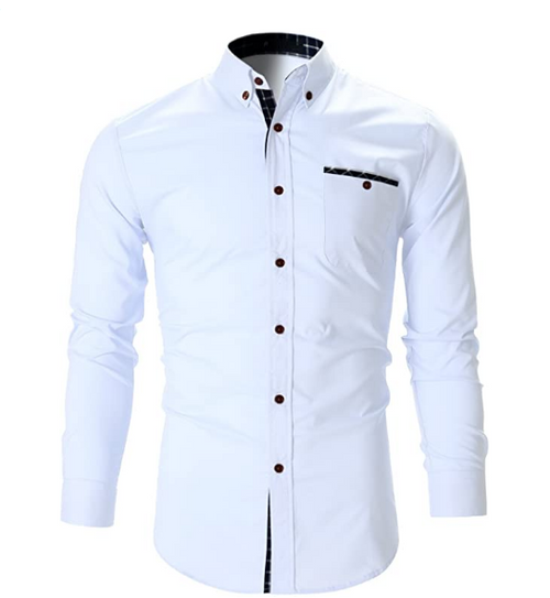 Men's Designer Cotton Shirt Code-1030 - Tooley Shirts