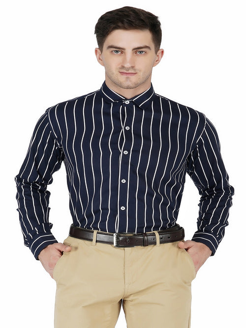 Black Lining Shirt Code-1128 - Tooley Shirts