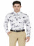 White Printed Shirt Code-1131 - Tooley Shirts