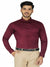 Mens Formal Maroon Shirt Code-1213
