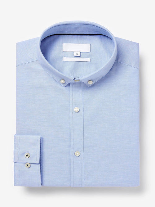 Long Sleeve Stretch Oxford Shirt Code-1205 - Tooley Shirts