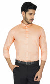 Men's Formal Light Peach Shirt Code-1217