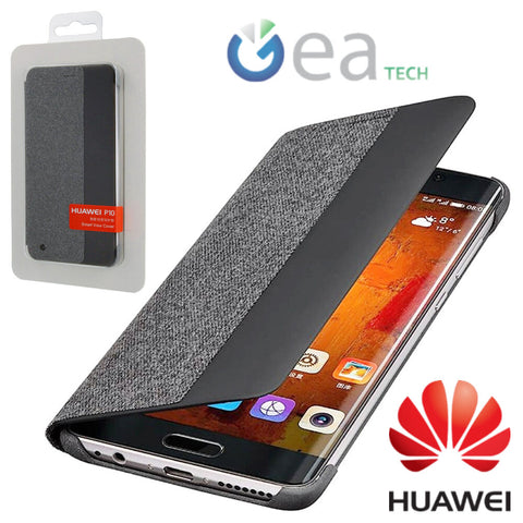 Custodia a Portafoglio per Huawei P10 Plus Smart View Cover Originale