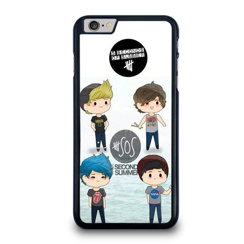 5 SECONDS OF SUMMER 5SOS CARTOON Cover iPhone 6 / 6S Plus