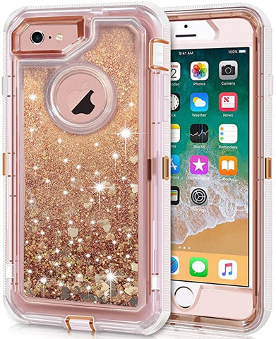 custodia iphone 6 plus glitter