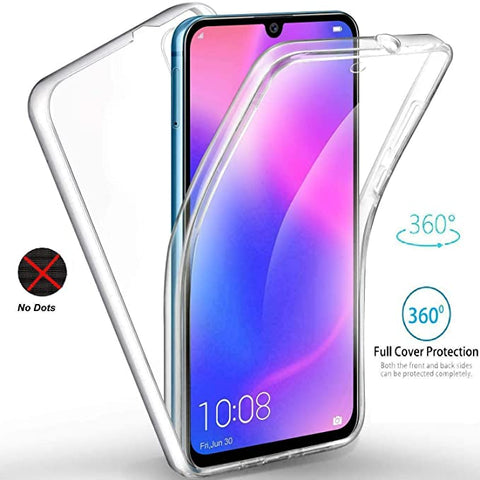 Huawei Y6 2019 Y6 Pro 2019 Case ShockProof Cover Crystal Clear Gel  Protective