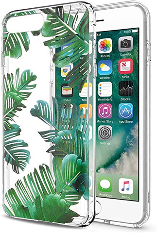 COVER TRASPARENTE + PELLICOLA VETRO TEMPERATO Per APPLE IPHONE 8+ PLUS  Custodia