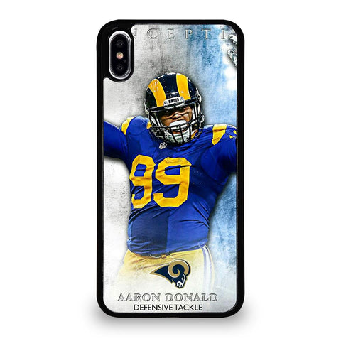 AARON DONALD RAMS cover iPhone X / XS,cover iphone x dsquared2 cover iphone x silicone,AARON DONALD RAMS cover iPhone X / XS