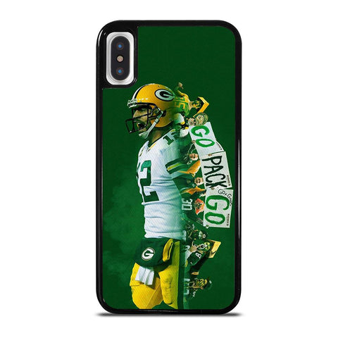 AARON RODGERS PACKERS cover iPhone X / XS,cover iphone x trasparente con disegni cover iphone x amazon,AARON RODGERS PACKERS cover iPhone X / XS