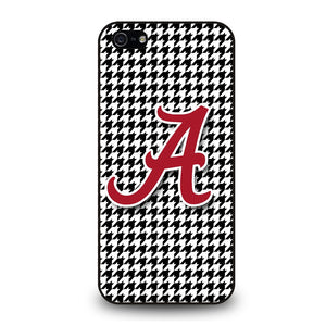 ALABAMA HOUNDSTOOTH CRIMSON TIDE Cover iPhone 5 / 5S / SE - benecover