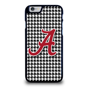 ALABAMA HOUNDSTOOTH CRIMSON TIDE Cover iPhone 6 / 6S