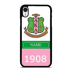 ALPHA KAPPA ALPHA 1908 Cover iPhone XR,iphone xr cover arancione cover iphone xr personalizzate,ALPHA KAPPA ALPHA 1908 Cover iPhone XR