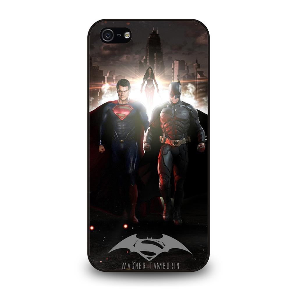 BATMAN VS SUPERMAN DAWN OF JUSTICE Cover iPhone 5 / 5S / SE - Negozio di custodie per Iphone|samsung|huawei custodia4cover.it