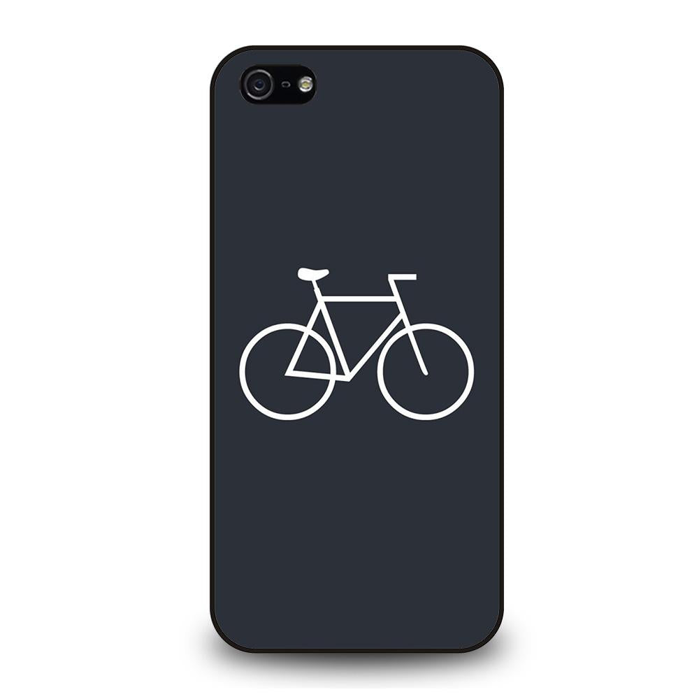 BICYCLE MINIMALISTIC Cover iPhone 5 / 5S / SE - benecover