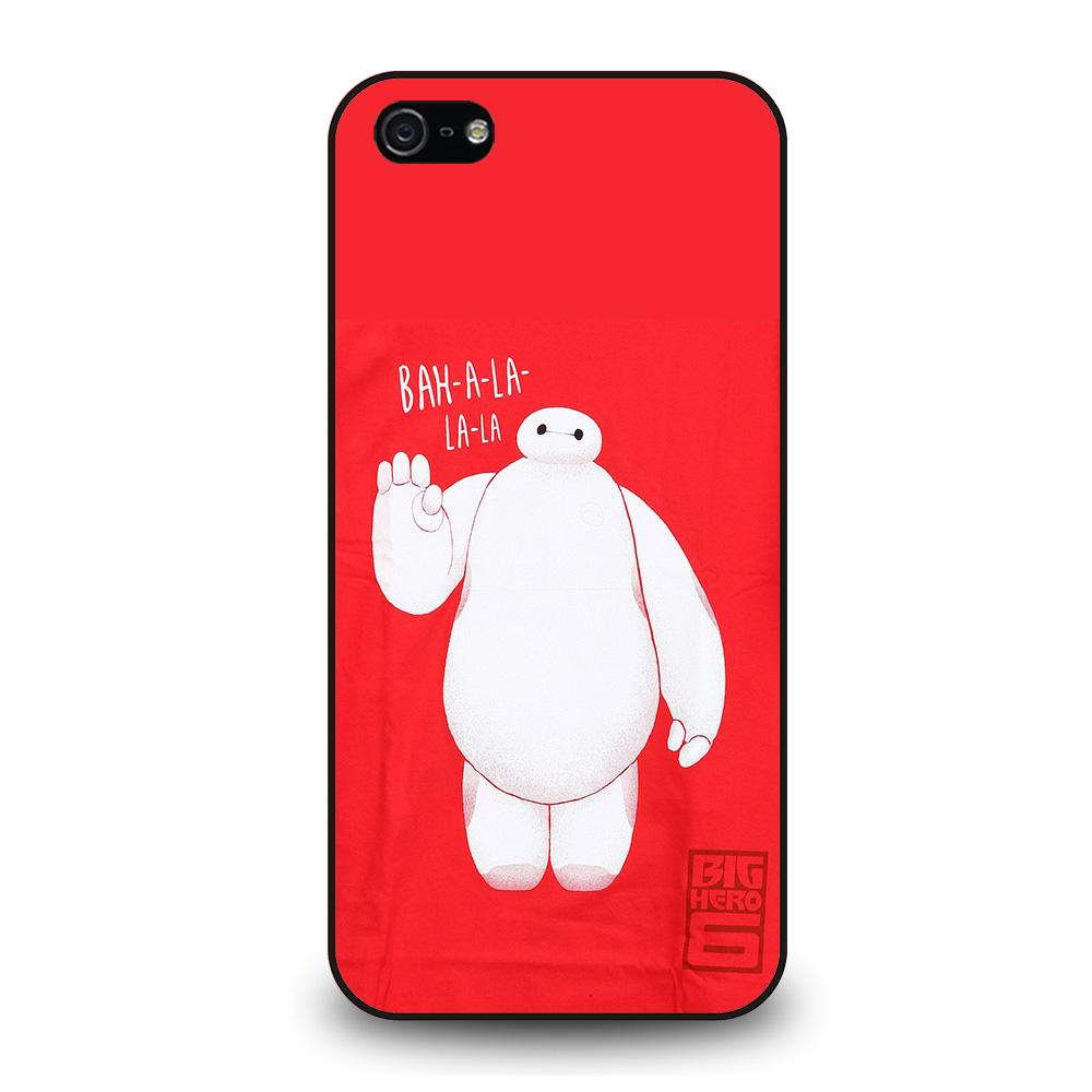 BIG HERO 6 BAYMAX FIRST PUMP Cover iPhone 5 / 5S / SE - benecover
