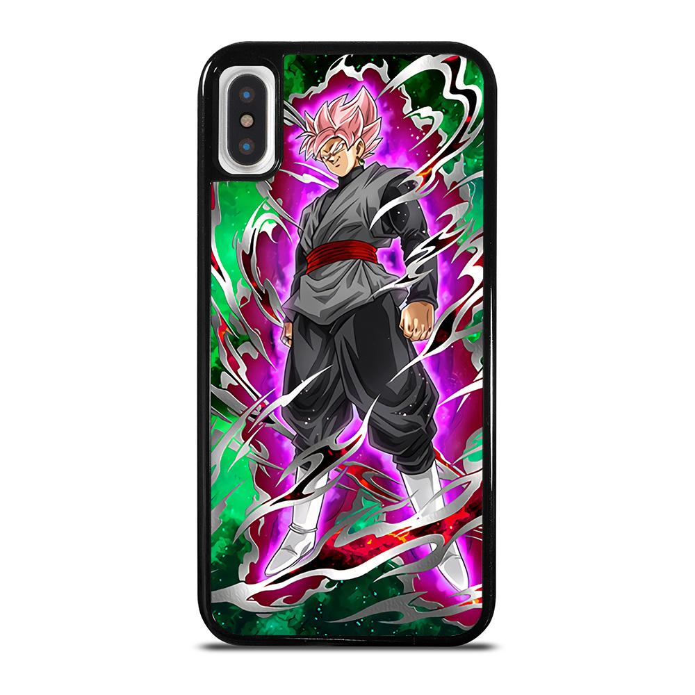 BLACK GOKU SUPER SAIYAN ROSE 2 cover iPhone X / XS,sostituzione back cover iphone x best cover iphone x,BLACK GOKU SUPER SAIYAN ROSE 2 cover iPhone X / XS