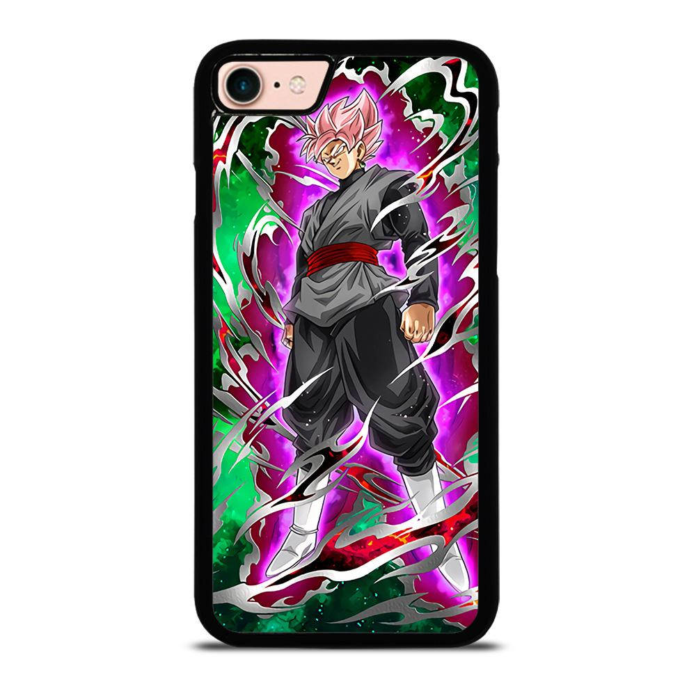 BLACK GOKU SUPER SAIYAN ROSE 2 Cover iPhone 8