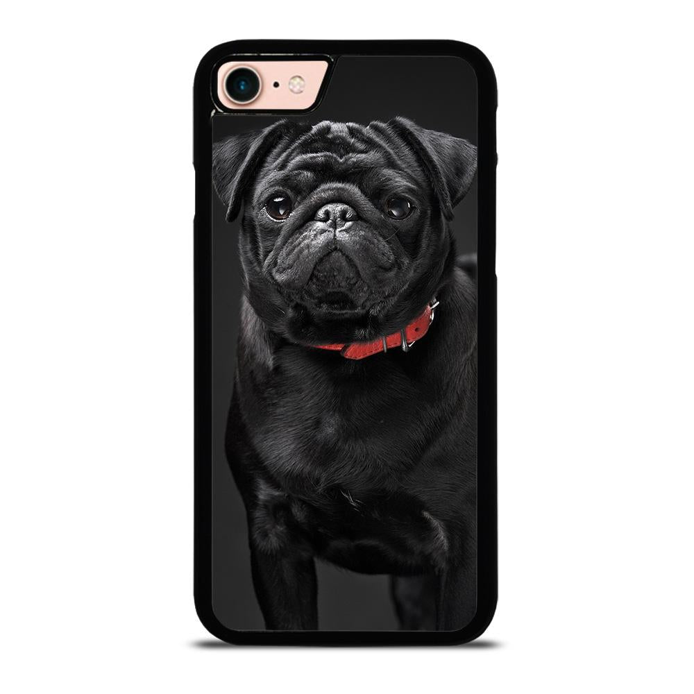 BLACK PUG Cover iPhone 8