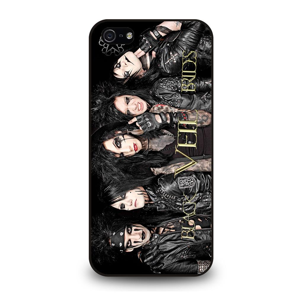 BLACK VEIL BRIDES BAND COSTUMES Cover iPhone 5 / 5S / SE - Negozio di custodie per Iphone|samsung|huawei custodia4cover.it