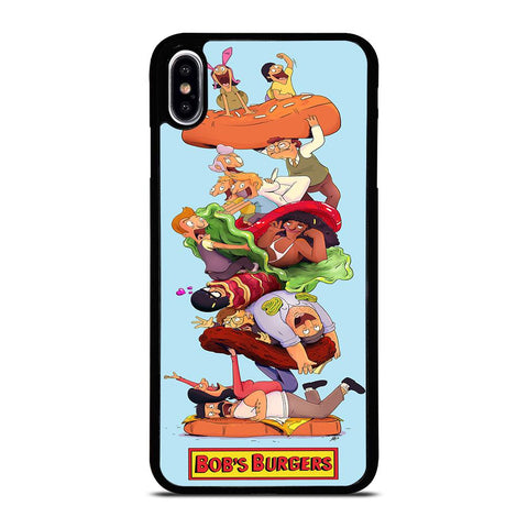 BOBS BURGERS FAMILY Cover iPhone XS Max,cover iphone xs max elgiganten cover iphone xs max divertenti,BOBS BURGERS FAMILY Cover iPhone XS Max