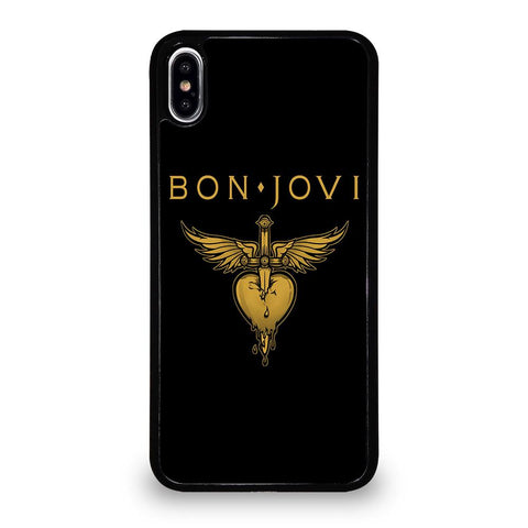 BON JOVI LOGO Cover iPhone XS Max,cover iphone xs max luisa via roma cover iphone xs max luisa via roma,BON JOVI LOGO Cover iPhone XS Max