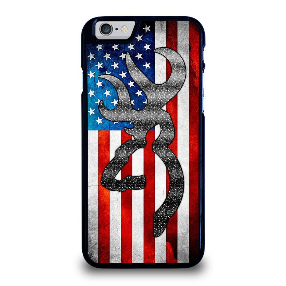 BROWNING CAMO AMERICAN FLAG Cover iPhone 6 / 6S