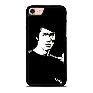 BRUCE LEE BLACK WHITE Cover iPhone 8