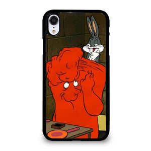 BUGS BUNNY AND GOSSAMER RED Cover iPhone XR,cover iphone xr marcelo burlon cover iphone xr,BUGS BUNNY AND GOSSAMER RED Cover iPhone XR