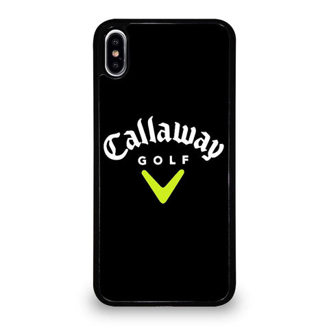 coque custodia cover fundas iphone 11 pro max 5 6 7 8 plus x xs xr se2020 C12800 CALLAWAY GOLF LOGO 3 iPhone XS Max Case