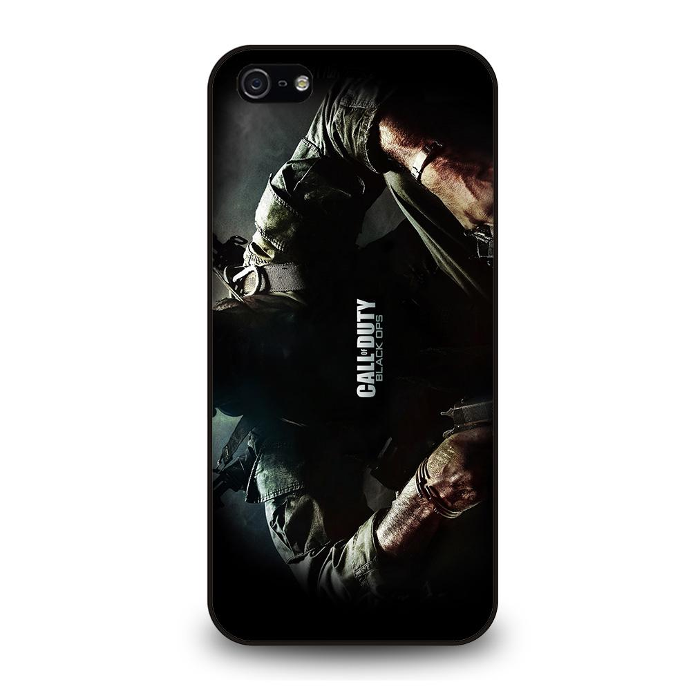 CALL OF DUTY BLACK OPS Cover iPhone 5 / 5S / SE
