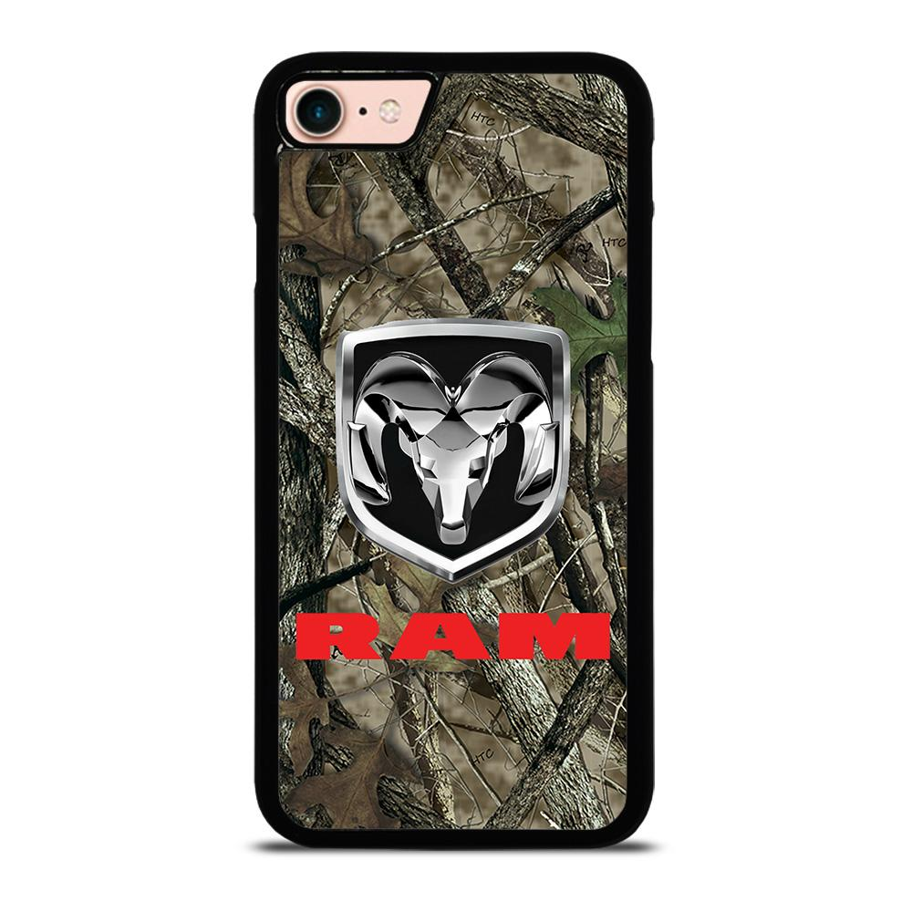 CAMO DODGE RAM RED custodia cover iPhone8