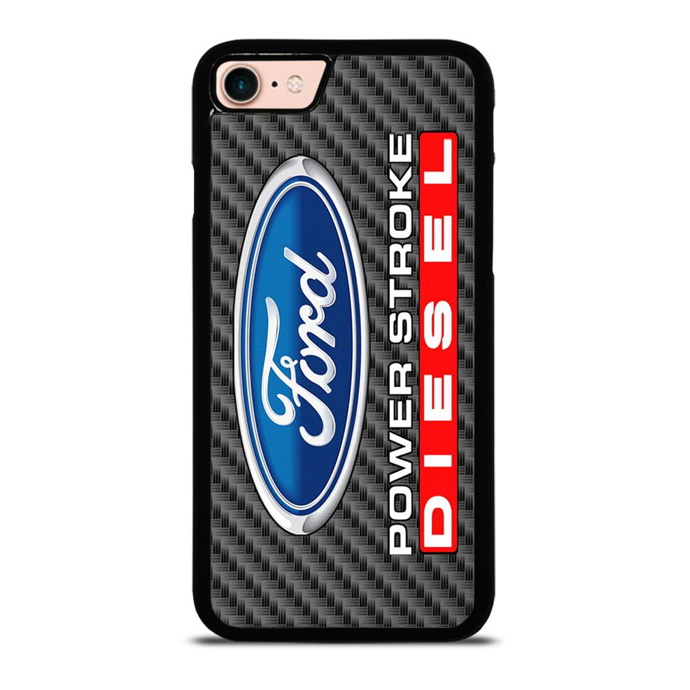CARBON ORD POWERSTROKE DIESEL LOGO Cover iPhone 8