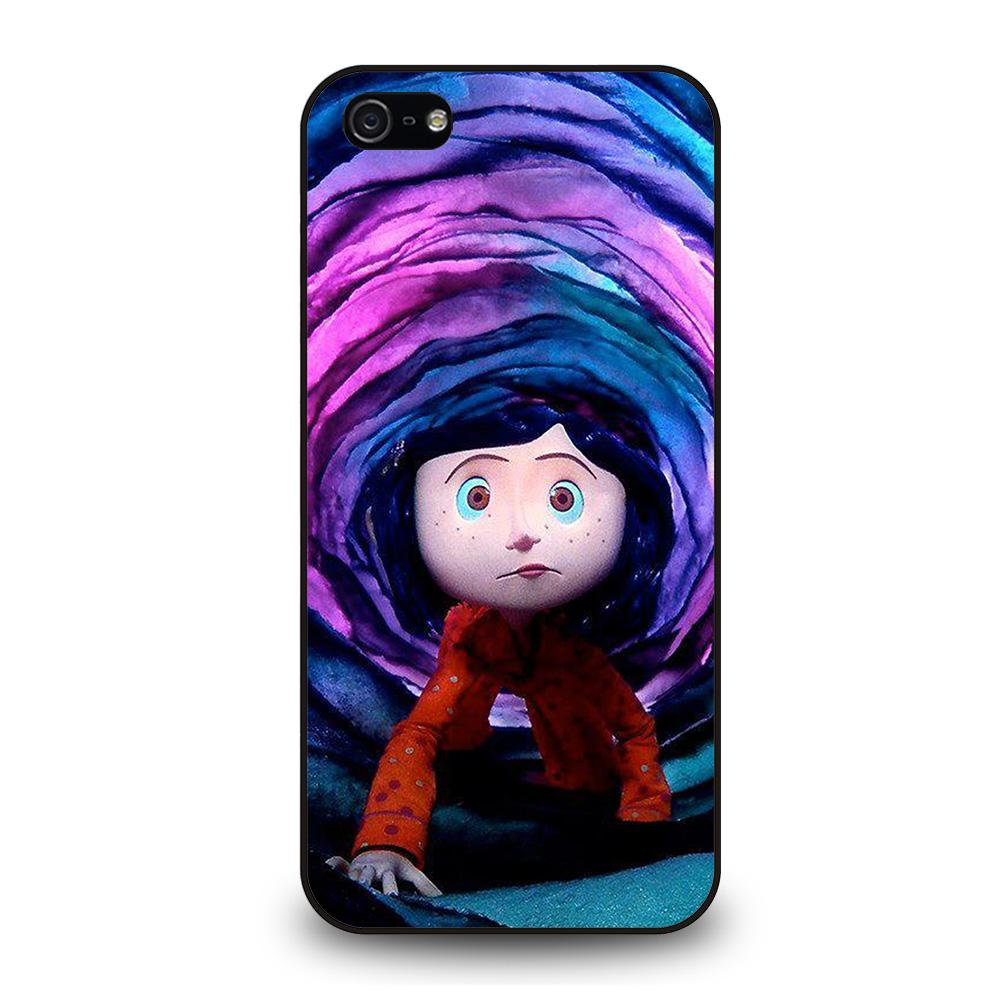 CARTOON CORALINE Cover iPhone 5 / 5S / SE