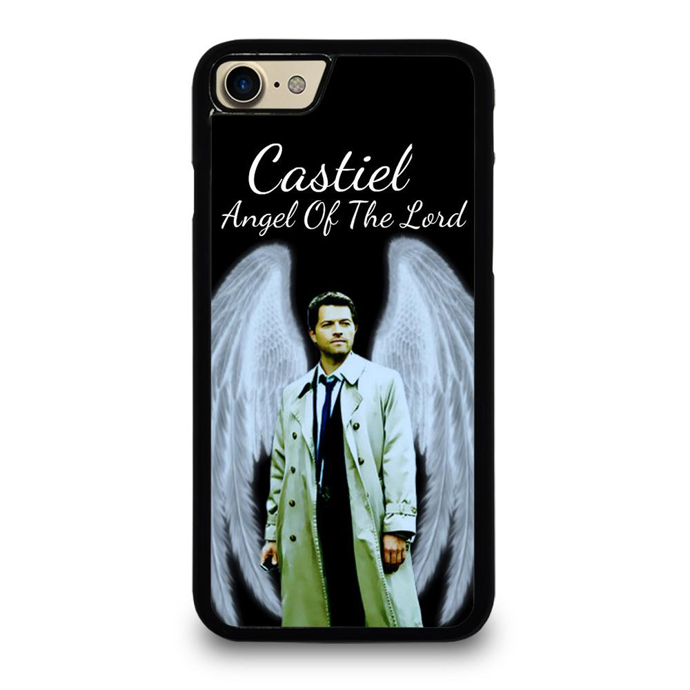 coque custodia cover fundas iphone 11 pro max 5 6 7 8 plus x xs xr se2020 C13268 CASTIEL ANGEL OF THE LORD iPhone 7 / 8 Case