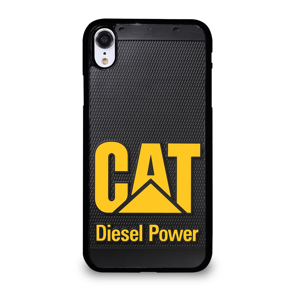 coque custodia cover fundas iphone 11 pro max 5 6 7 8 plus x xs xr se2020 C13354 CATERPILLAR DIESEL POWER iPhone XR Case