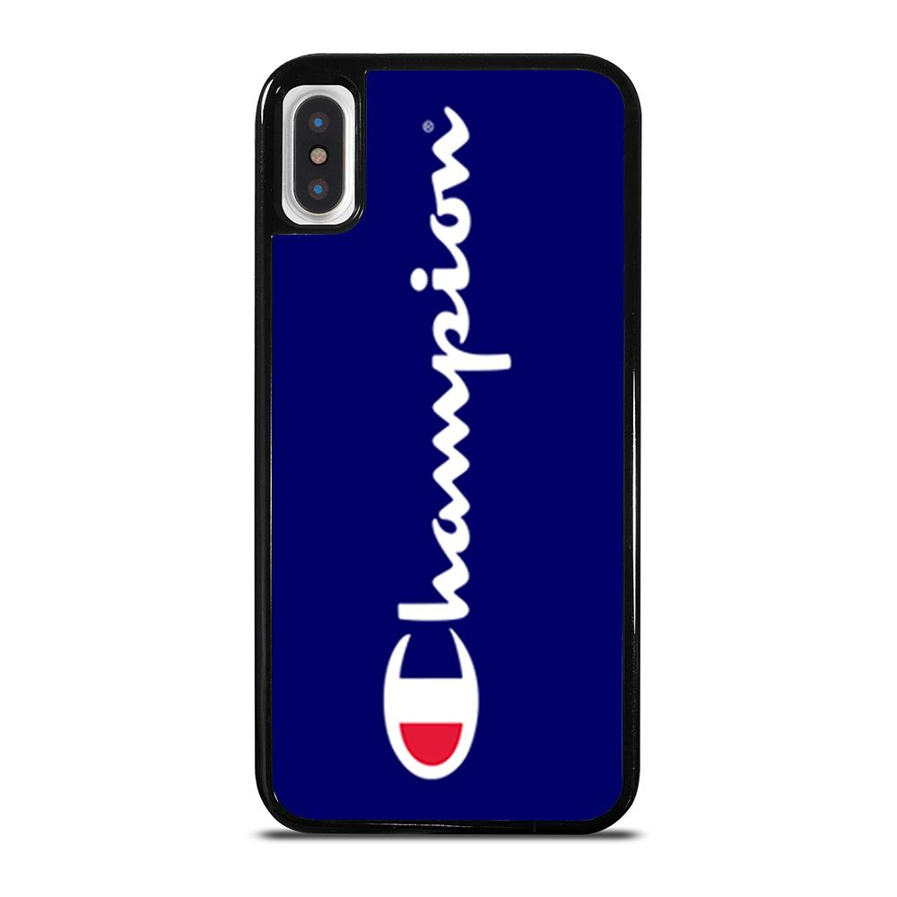 CHAMPION LOGO cover iPhone X / XS,moschino cover iphone x cover iphone x firmate,CHAMPION LOGO cover iPhone X / XS