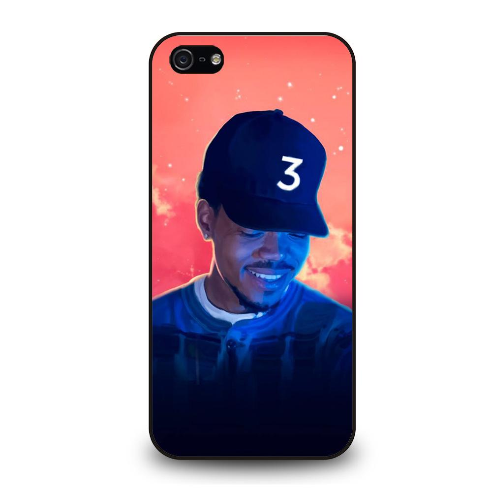 coque custodia cover fundas iphone 11 pro max 5 6 7 8 plus x xs xr se2020 C13385 CHANCE THE RAPPER #2 iPhone 5/5S/SE Case