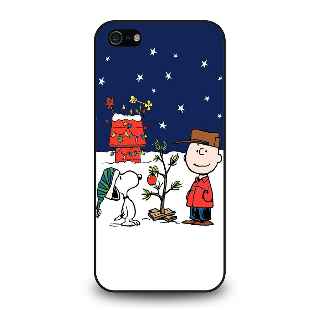 CHARLIE BROWN PEANUTS COMICS SNOOPY Cover iPhone 5 / 5S / SE