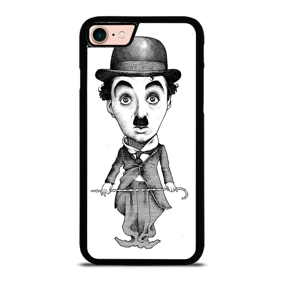 CHARLIE CHAPLIN CARTOON custodia cover iPhone8