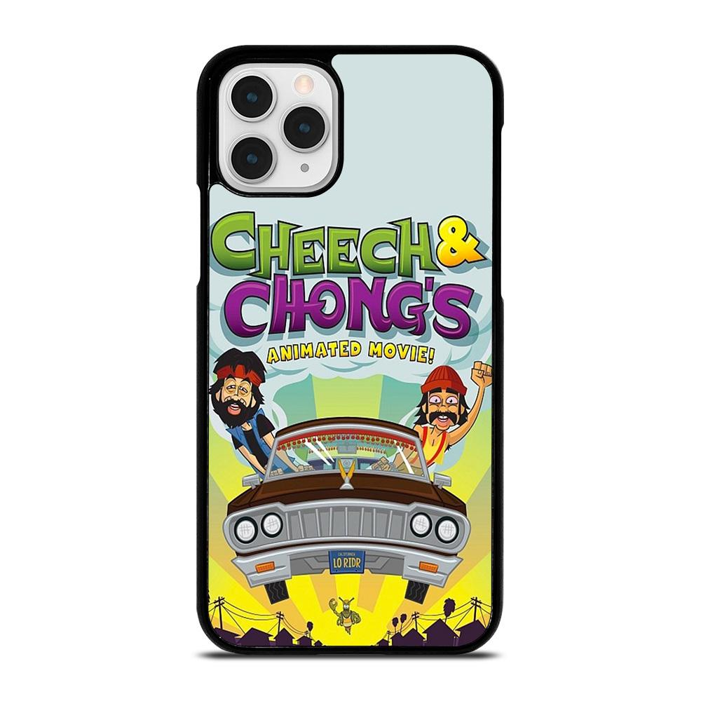 coque custodia cover fundas iphone 11 pro max 5 6 7 8 plus x xs xr se2020 C13479 CHEECH AND CHONG ANIMATED MOVIE iPhone 11 Pro Case