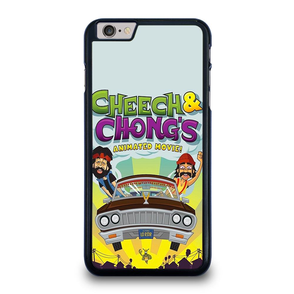 coque custodia cover fundas iphone 11 pro max 5 6 7 8 plus x xs xr se2020 C13483 CHEECH AND CHONG ANIMATED MOVIE iPhone 6 / 6S Plus Case